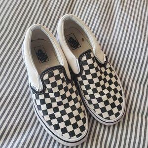 VANS Checked Slip On Sneakers